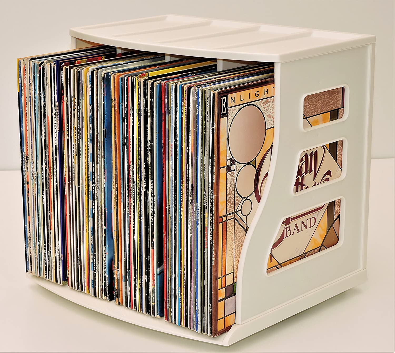 vinyl way organizers products cubes storage img cube basics record n natural shelf closet in