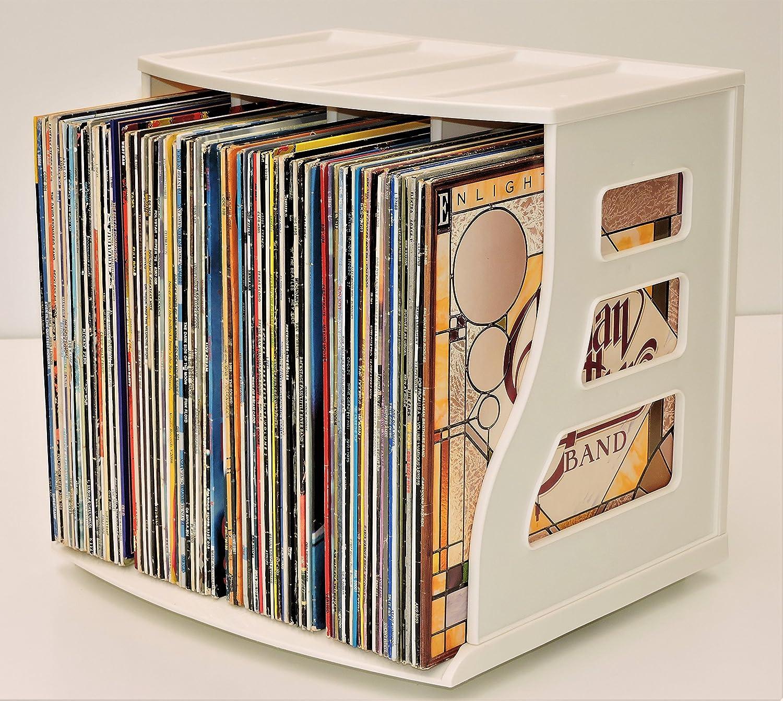 display front inch s shelf box vinyl unit black studio storage record