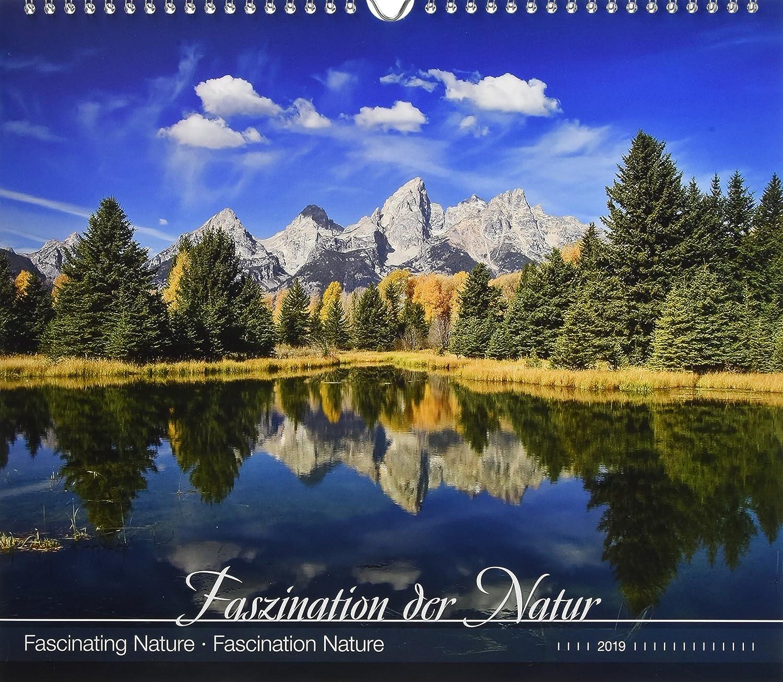 """Calendario Da Muro """"Fascinating Nature"""" 2019 33,5X29 Cm"""