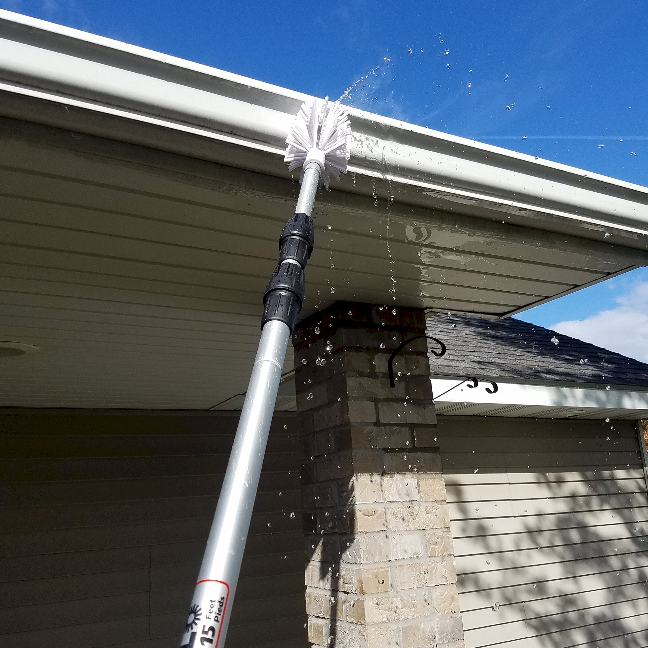 Ezy Flo Deluxe High Reach Gutter/Window/Patio Cleaning Kit by Ezy Flo (Image #6)