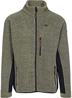 Trespass Wallow Warm Fleece Jacket 320gsm for Men//Gents//Adults for Walking//Hiking//Trekking//Camping//Outdoor//Snowsports//Skiing//Snowboarding