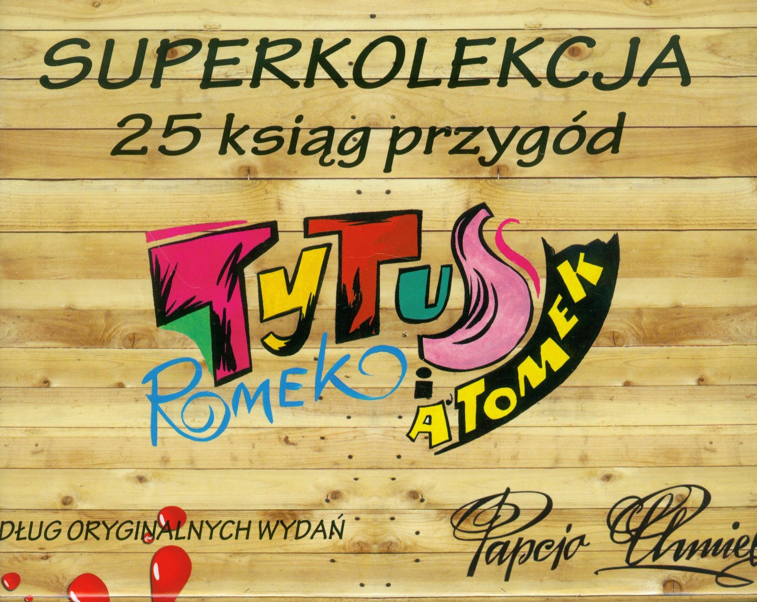 Tytus Superkolekcja Tom 1-25: Pakiet