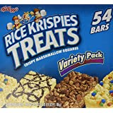 Kellogg's Rice Krispies Treats - Variety Pack - 54 ct (.078oz each)