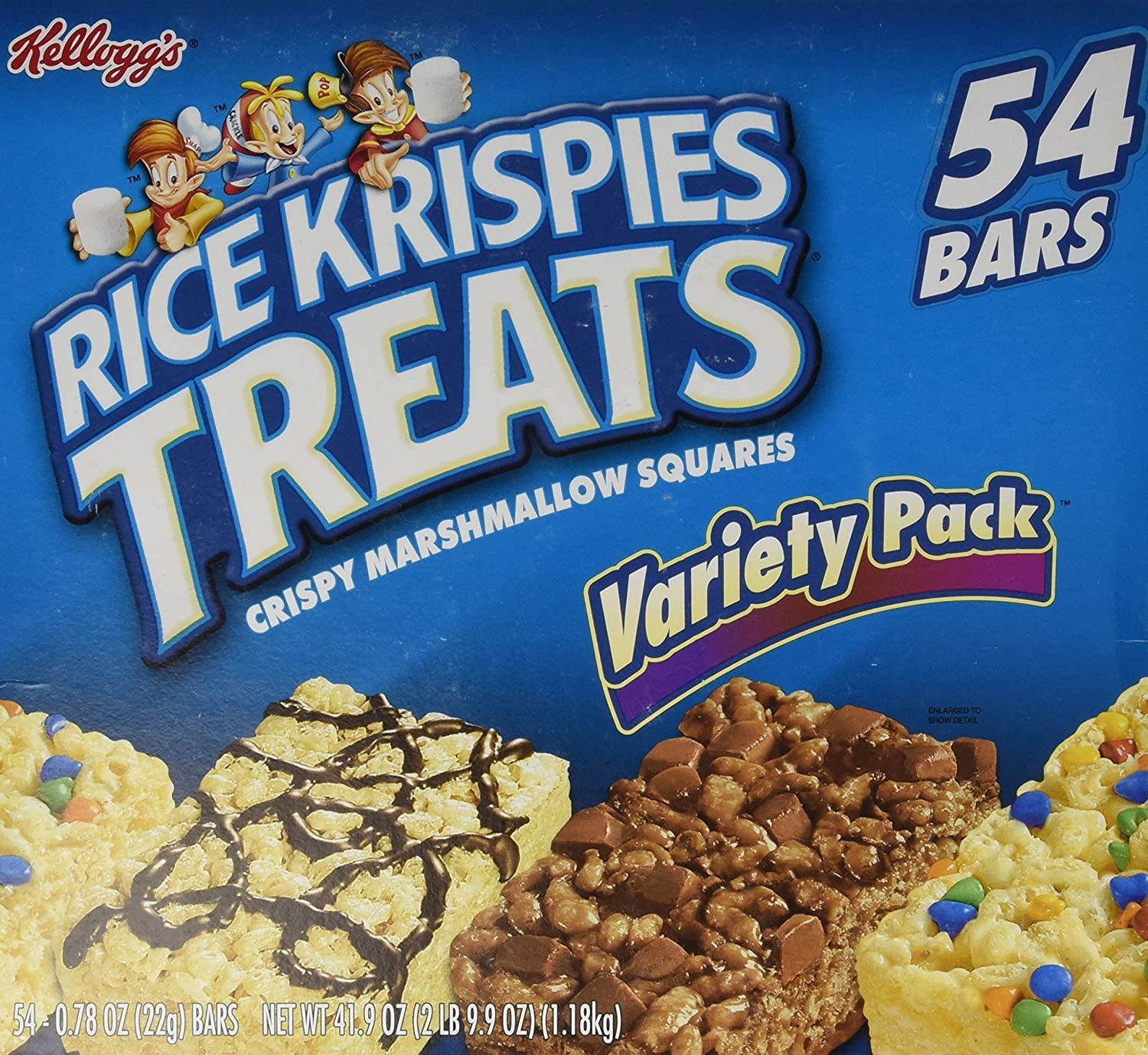 Amazon kelloggs rice krispies treats variety pack 54 ct amazon kelloggs rice krispies treats variety pack 54 ct 078oz each gourmet food grocery gourmet food ccuart Image collections