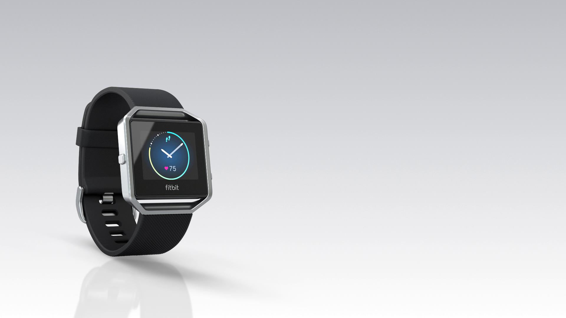 Fitbit Blaze - Reloj inteligente para actividad física, unisex, color negro y plata, talla L: Amazon.es: Deportes y aire libre