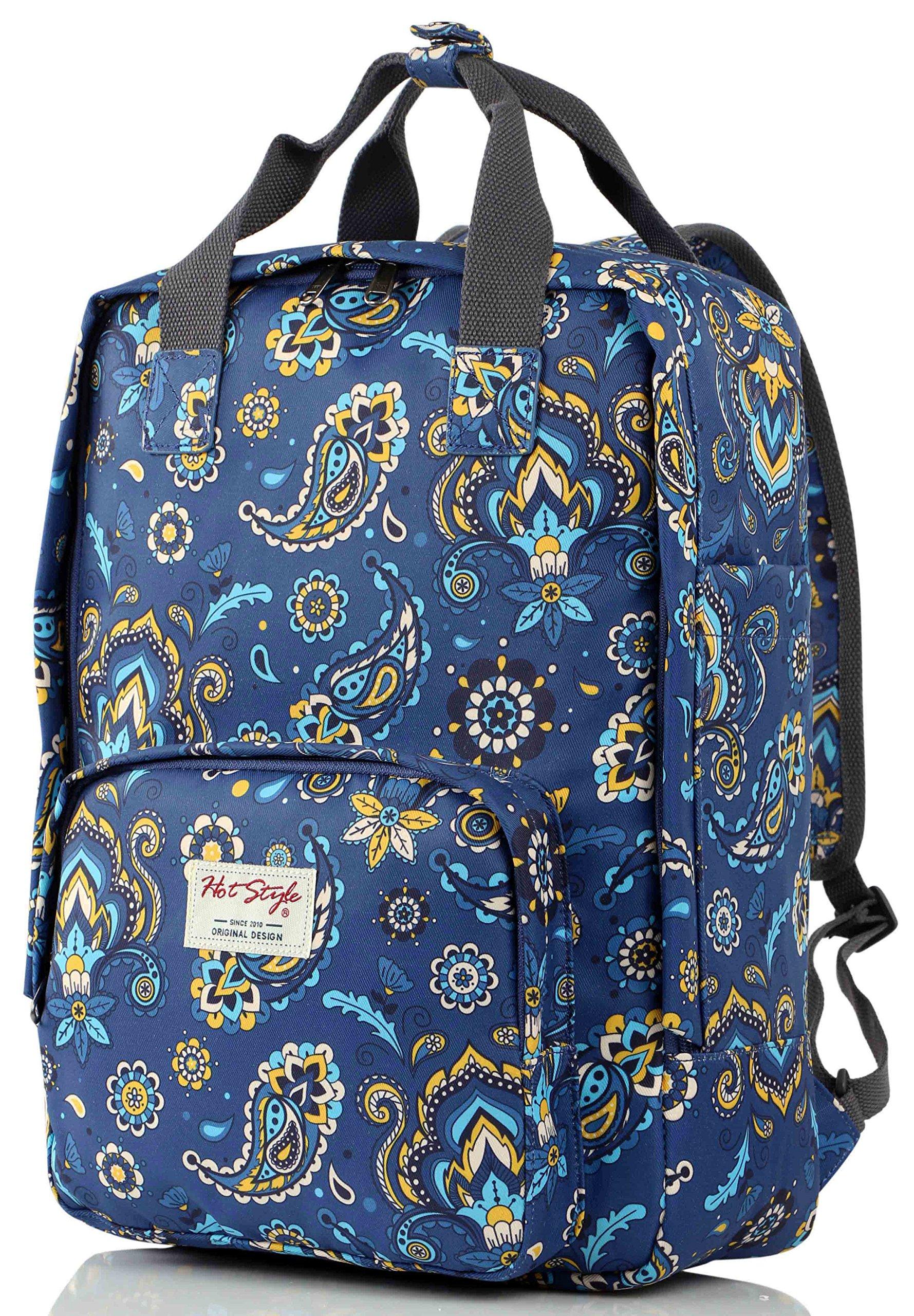 HotStyle FUNNY Women's Paisley Waterproof Backpack Diaper Bag