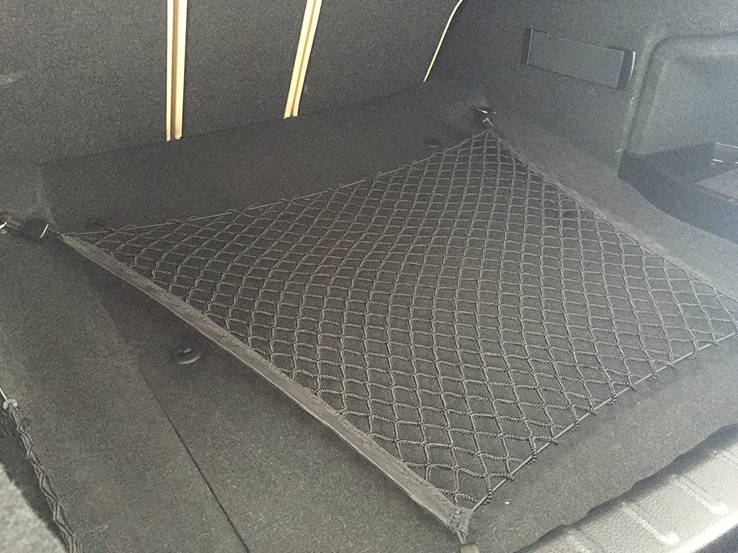 Floor Style Trunk Cargo Net for BMW 3 Series 320i 320iX 323i 325i 325xi 328d 328dX 328i 328iX 328xi 330e 330i 330iX 330xi 335d 335i 335is 335iX 335xi 340i 340iX