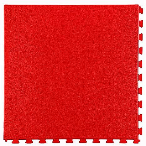 Technik Plaza D Lux Piastrelle Ad Incastro Rauh Struttura In Rosso