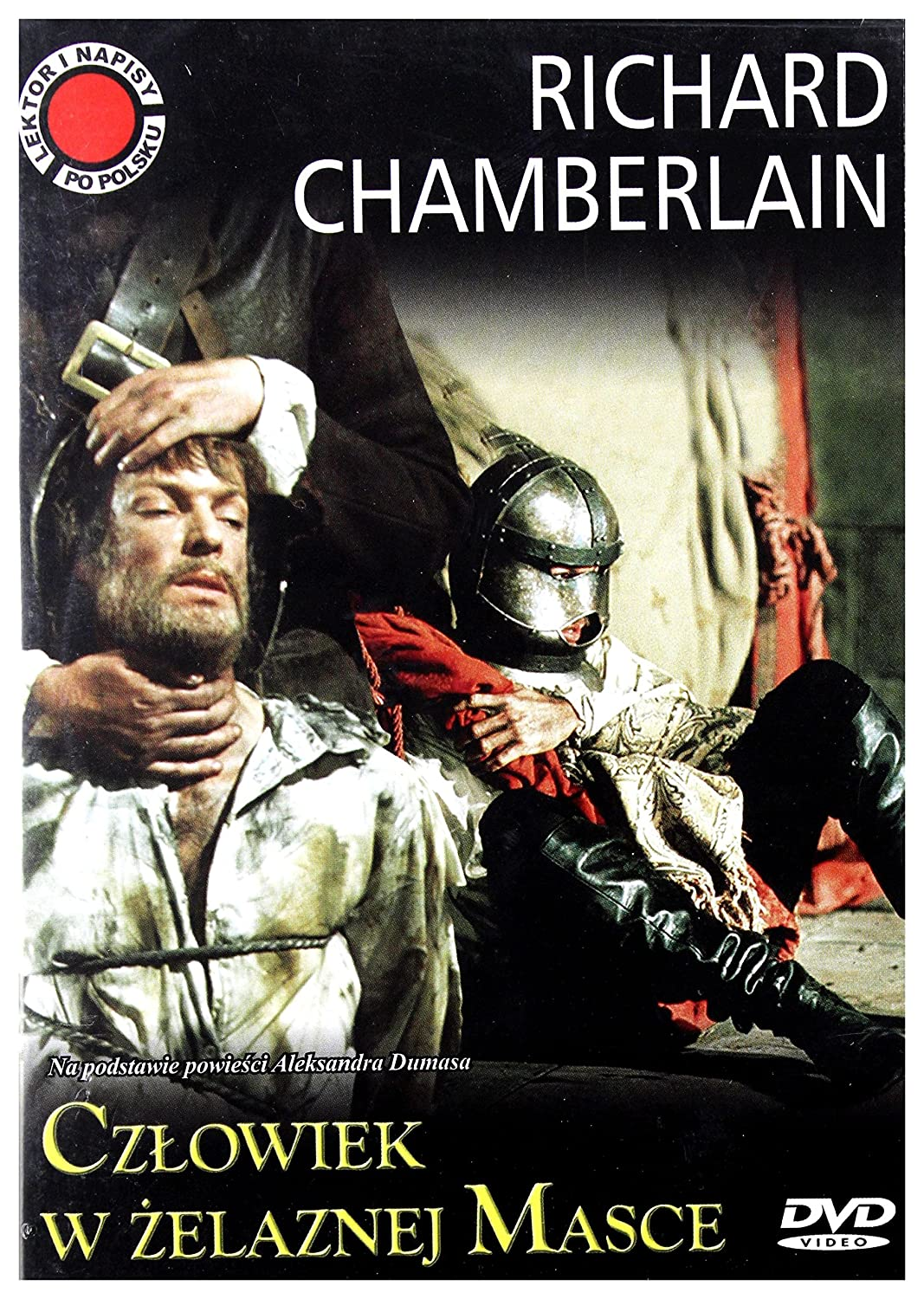 The Man in the Iron Mask DVD IMPORT No hay versión española: Amazon.es: Richard Chamberlain, Patrick McGoohan, Louis Jourdan, Jenny Agutter, Ian Holm, ...