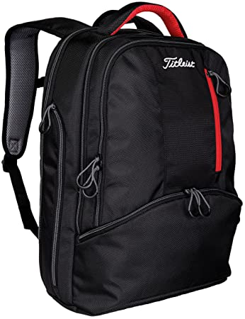 Amazon.com : Titleist 2016 Essential Backpack, Large, Black ...