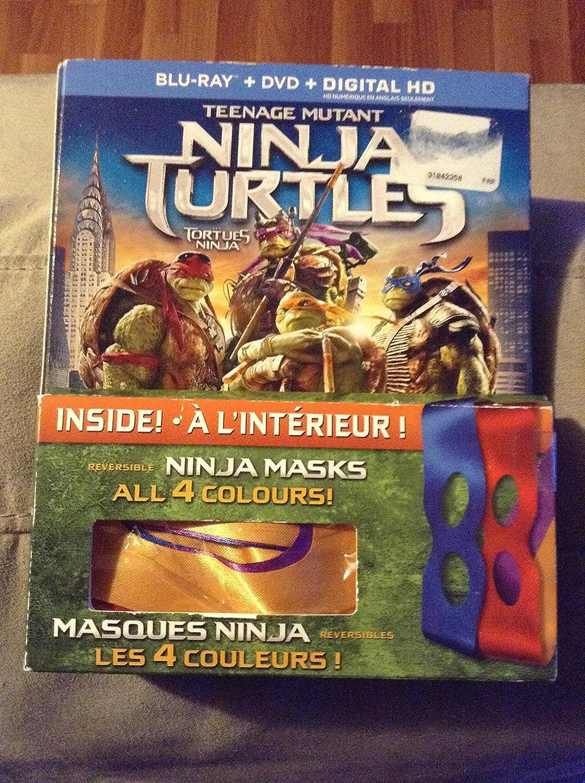 Amazon.com: Teenage Mutant Ninja Turtles (2014) [Blu-ray ...