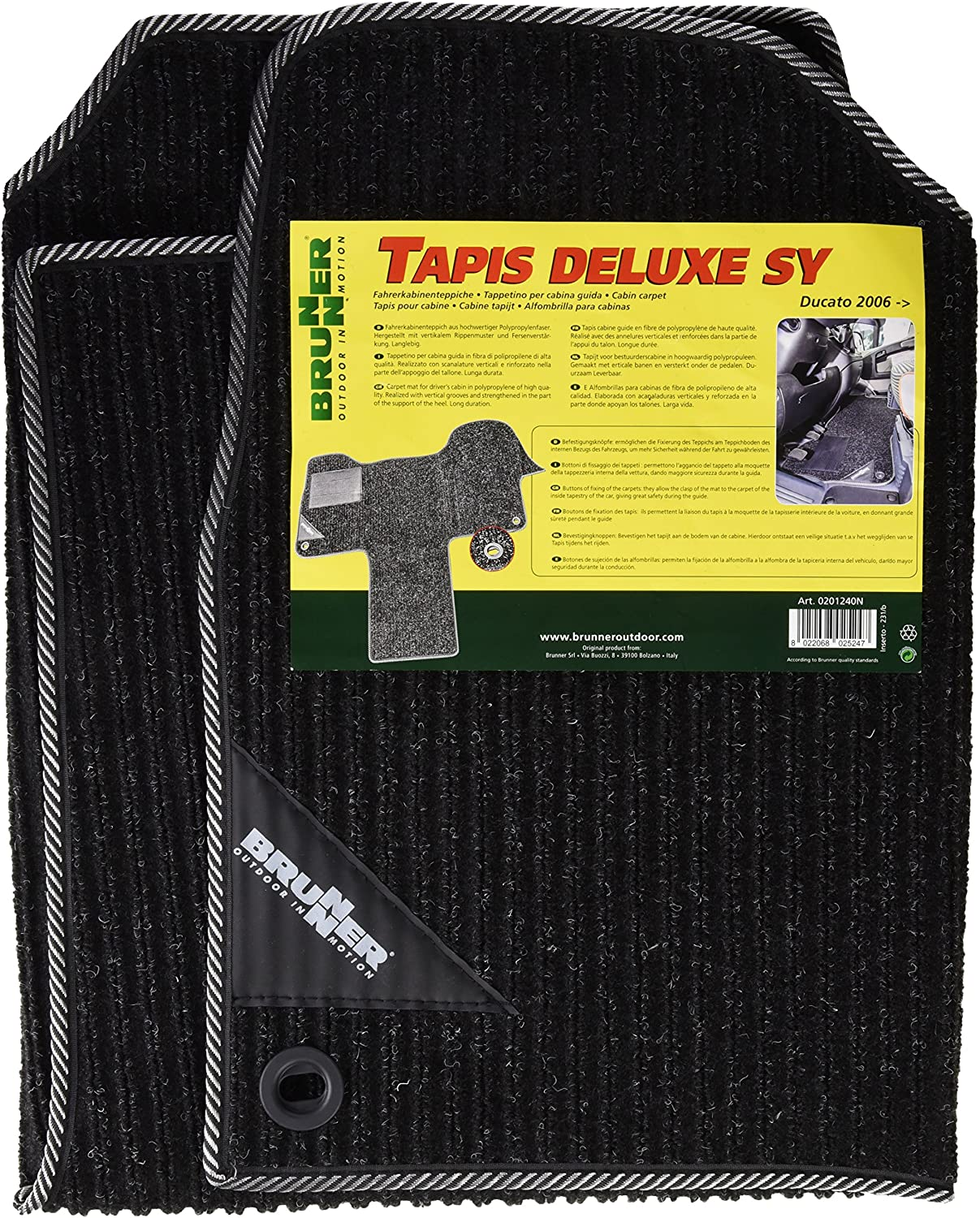 Brunner Tapis Deluxe Security Ducato 2006-2014