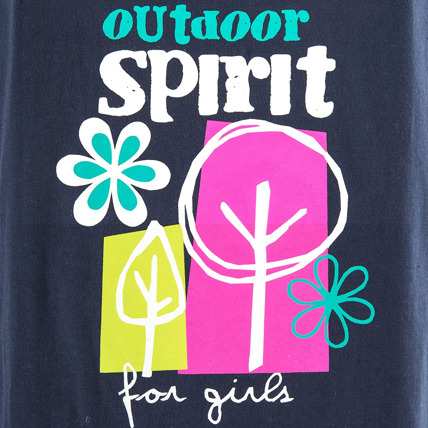 Trespass Kids Wallflower T-Shirt with Cool Frontal Print for Children Girls//Toddlers Ages 2-12 for Outdoor//Fun//Sports//Leisure