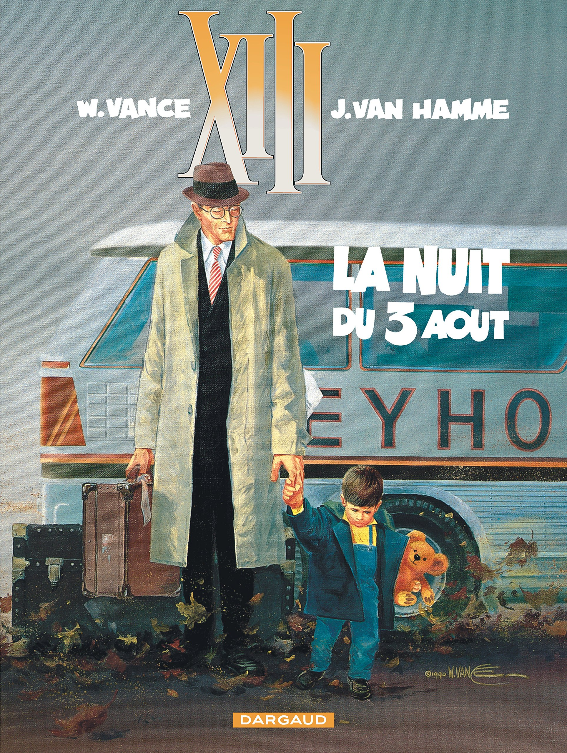 Amazon.fr - XIII, tome 7 : La Nuit du 3 août - William Vance, Jean Van  Hamme - Livres