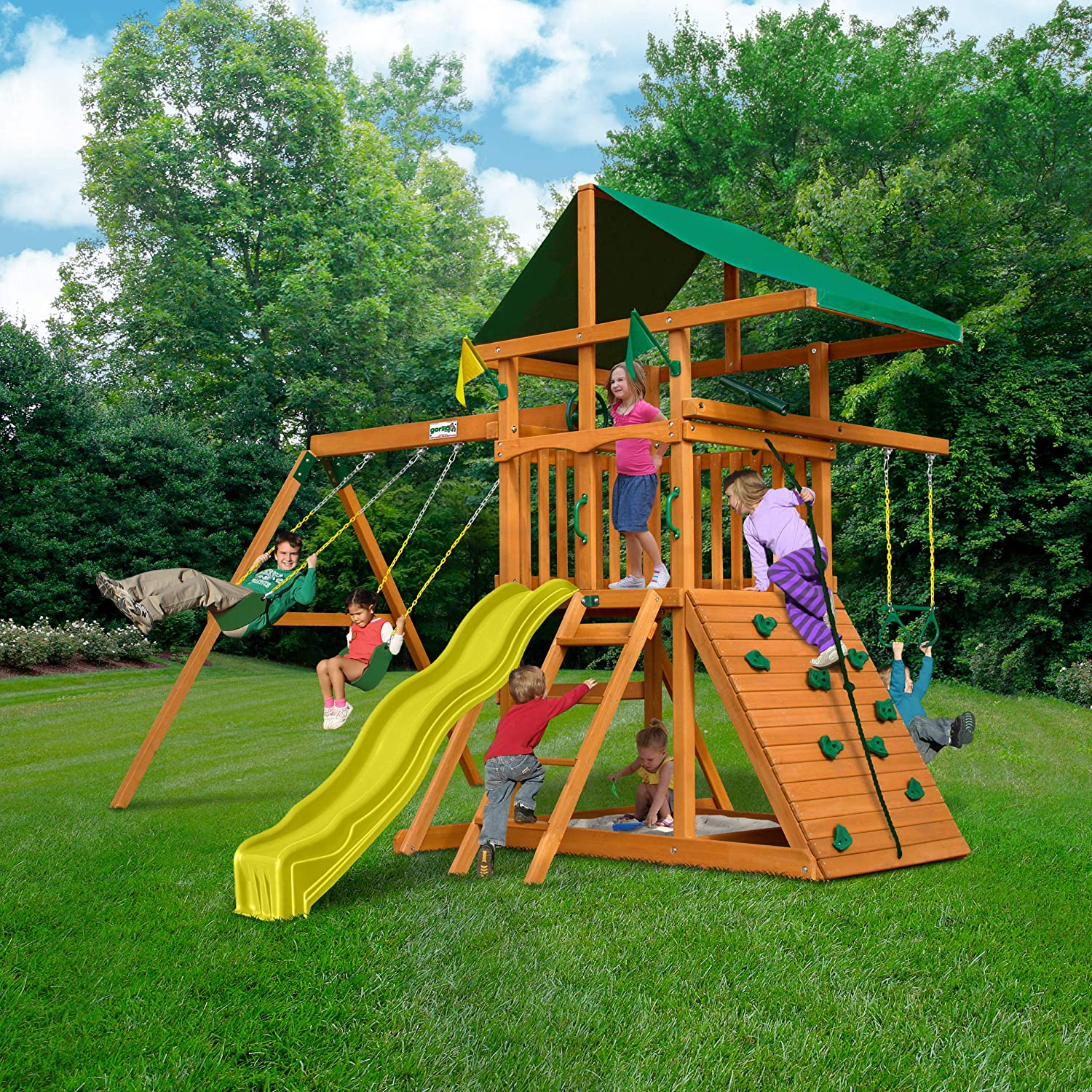 Gorilla Play and Swing Sets