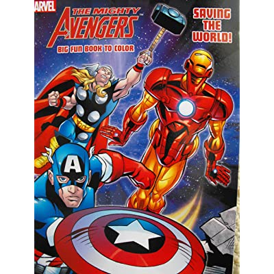 Marvel Avengers Coloring and Activity Book: Toys & Games