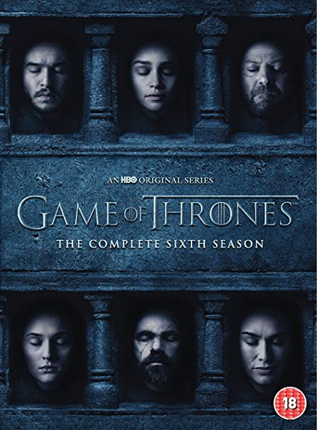 Game Of Thrones: The Complete Sixth Season 5 Dvd Edizione: Regno Unito Reino Unido: Amazon.es: Cine y Series TV