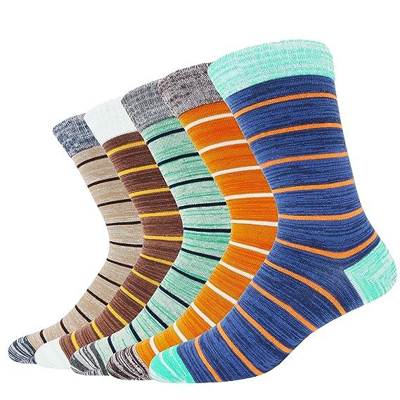 Pomlia® Calcetines Estampados Hombre (SOCKS1)