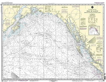 Amazon.com: 531 -- Golfo de Alaska – estrecho de Juan de ...