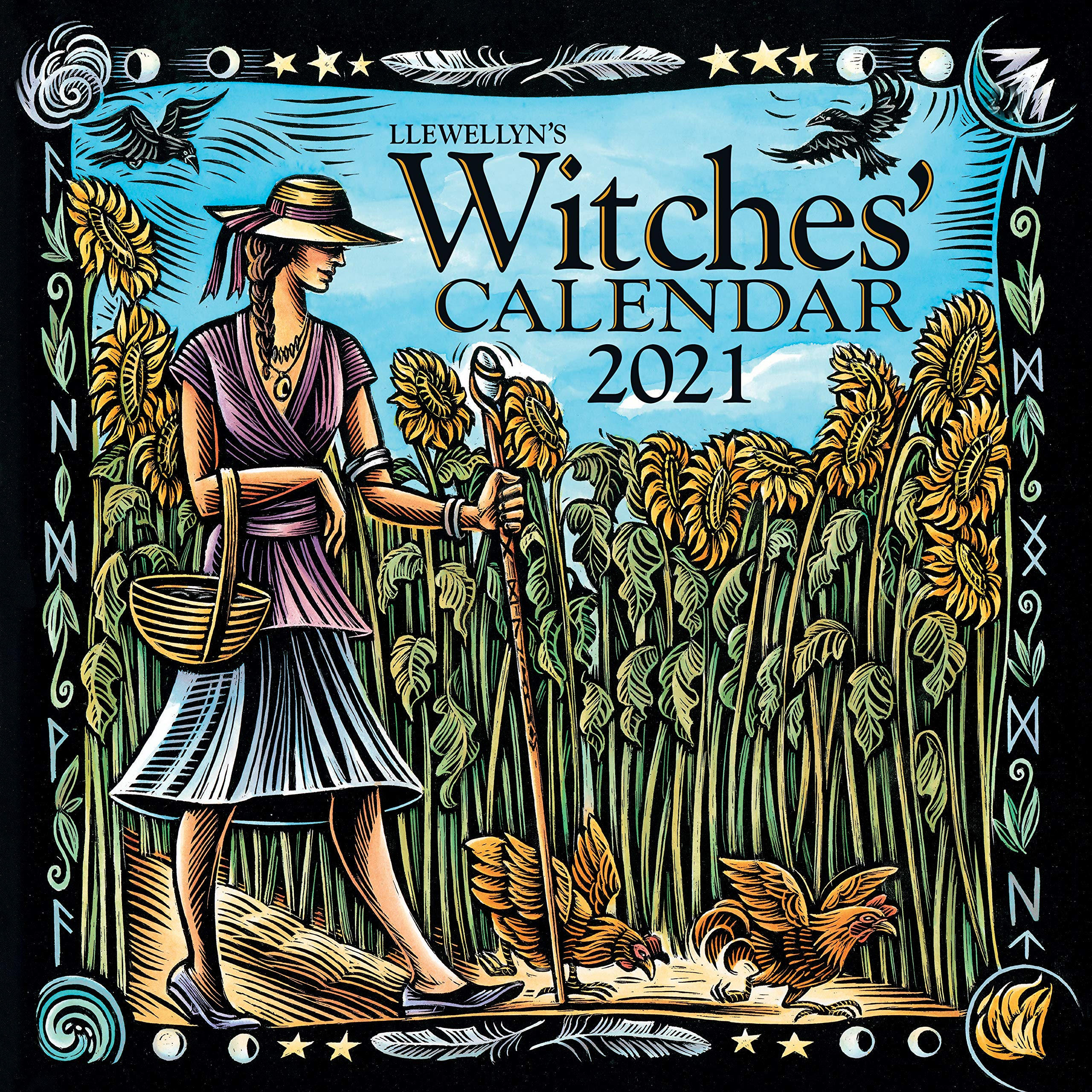 2021 Wiccan Calendar Llewellyn's 2021 Witches' Calendar: Zakroff, Laura Tempest, Zaman