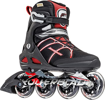 Rollerblade Macroblade 84/Mens Inline Skates MACROBLADE 84 ABT Black//red Men