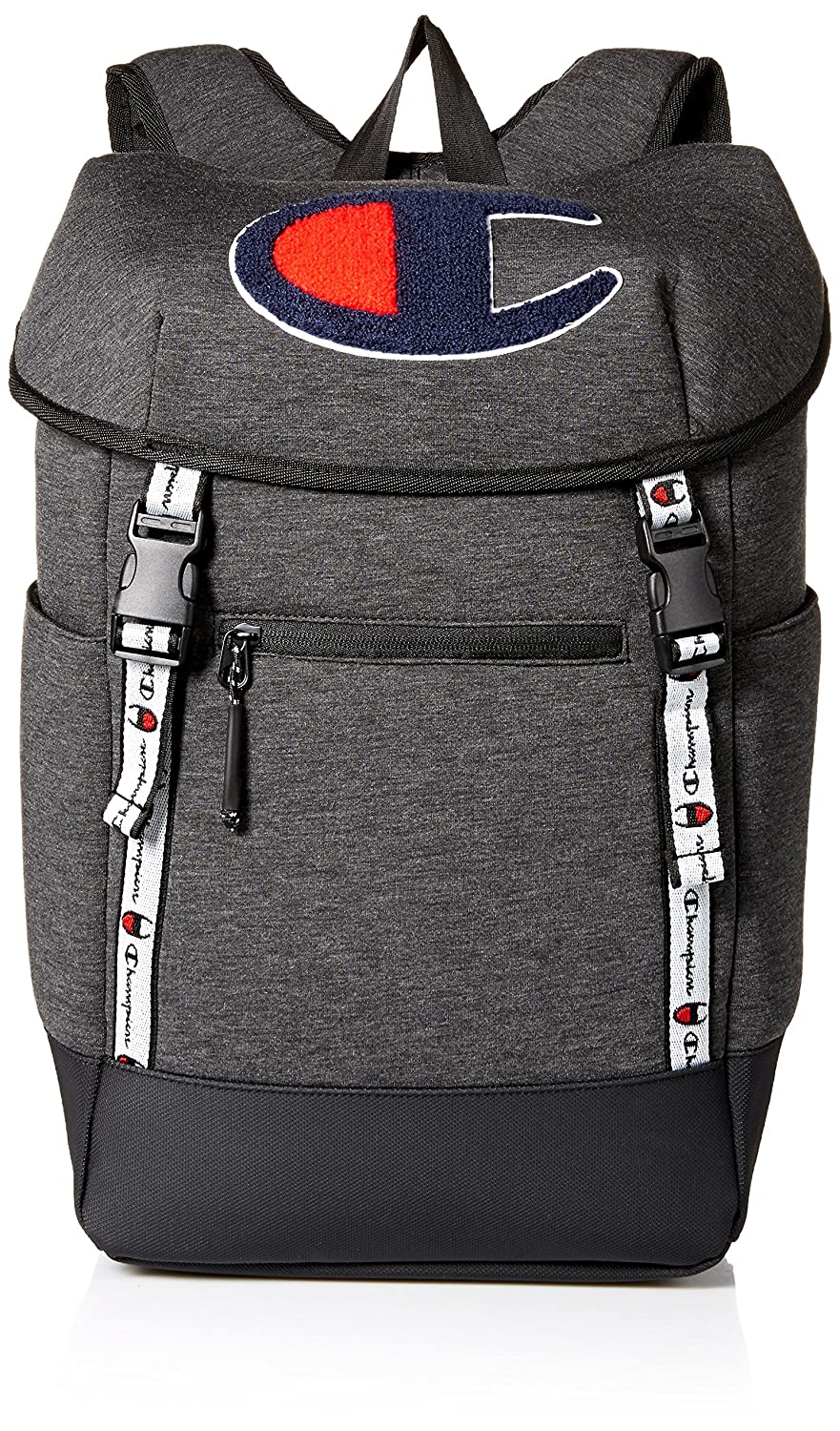 Champion Men's Top Load Backpack, Dark Grey, OS CH1027-020