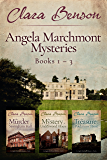 Angela Marchmont Mysteries: Books 1-3 (The Murder at Sissingham Hall, The Mystery at Underwood House, The Treasure at Poldarrow Point) (An Angela Marchmont Mystery)