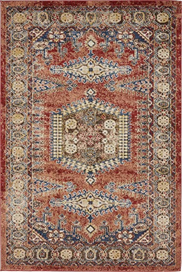 Amazon Com Traditional Persian Rugs Vintage Design Inspired