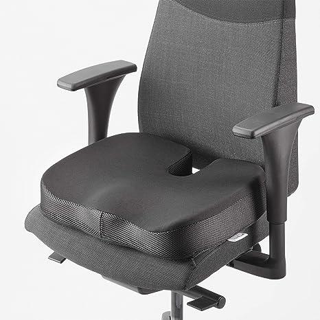 MEDIWELL Cojín ortopédico para asiento | Cojín para silla que alivia el dolor de espalda y