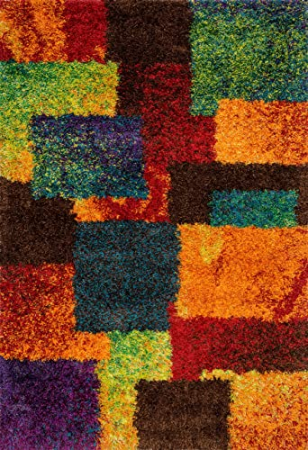 Loloi Barcelona Collection Bright Shag Area Rug