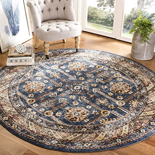 Safavieh Blossom Collection BLM217A Handmade Oriental Dark Grey and Light Brown Premium Wool Area Rug 10 x 14