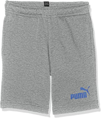 PUMA ESS Sweat Shorts B Pantalones Cortos, Niños: Amazon.es: Ropa ...