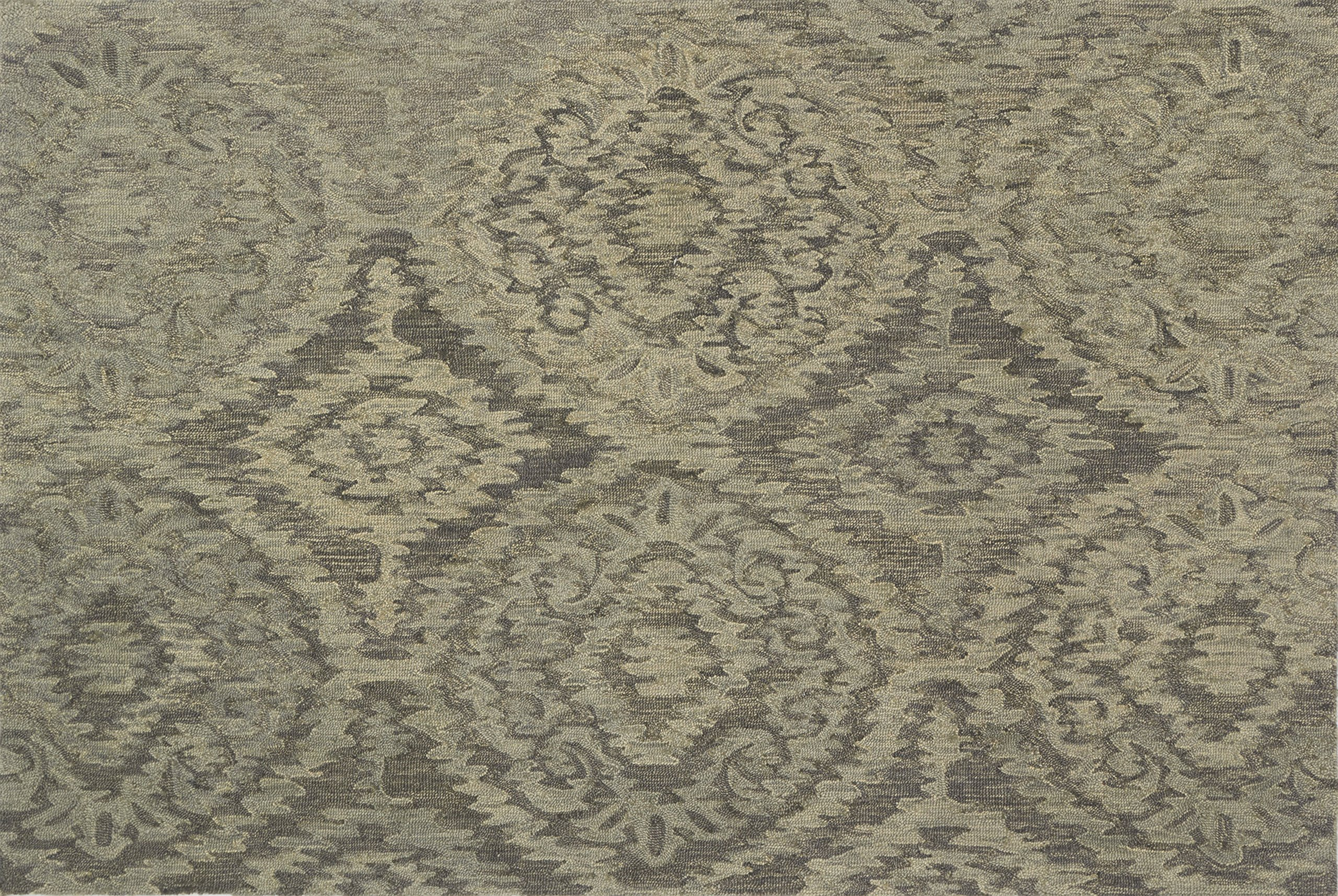 Loloi EVRSVX-01GY007999 Everson Collection Transitional Area Rug, 7'-9'' x 9'-9'', Grey