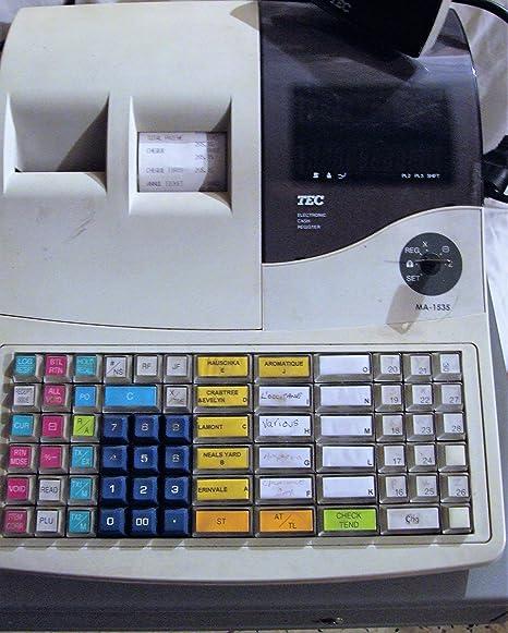 Caja registradora & Scanner. Toshiba: Amazon.es: Electrónica