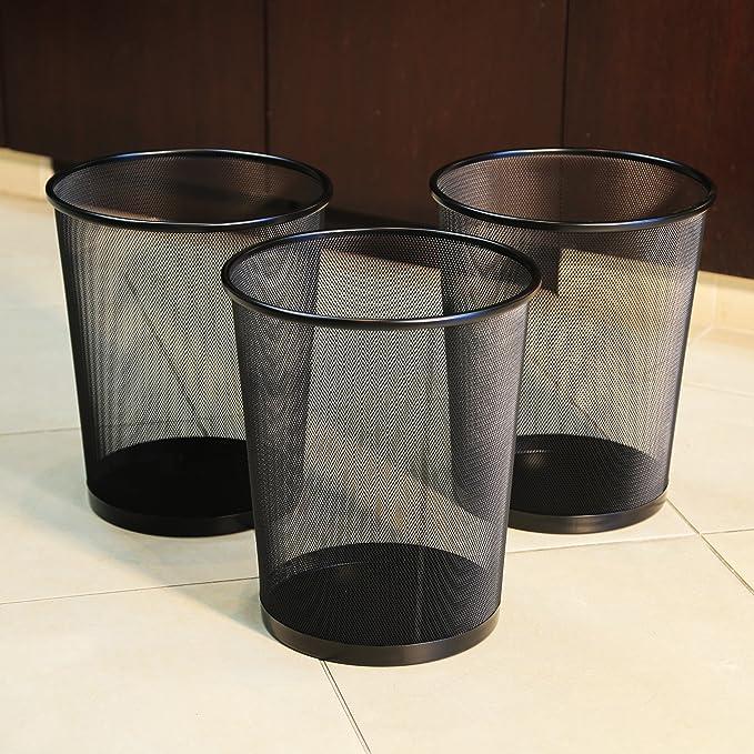 Amazon.com: Cestos para basura Seville Classics, de malla ...