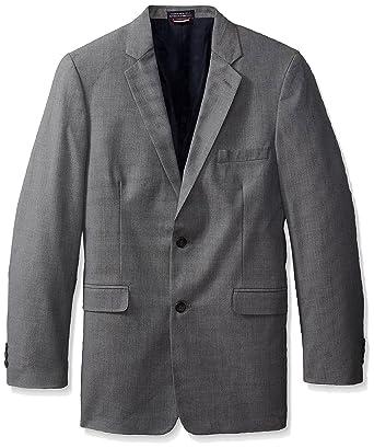 Amazon.com: Tommy Hilfiger chamarra de traje de piel de zapa ...