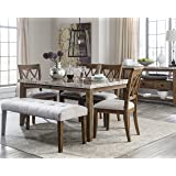 Ashley Narvilla Rectangular Dining Room Table In Two Tone