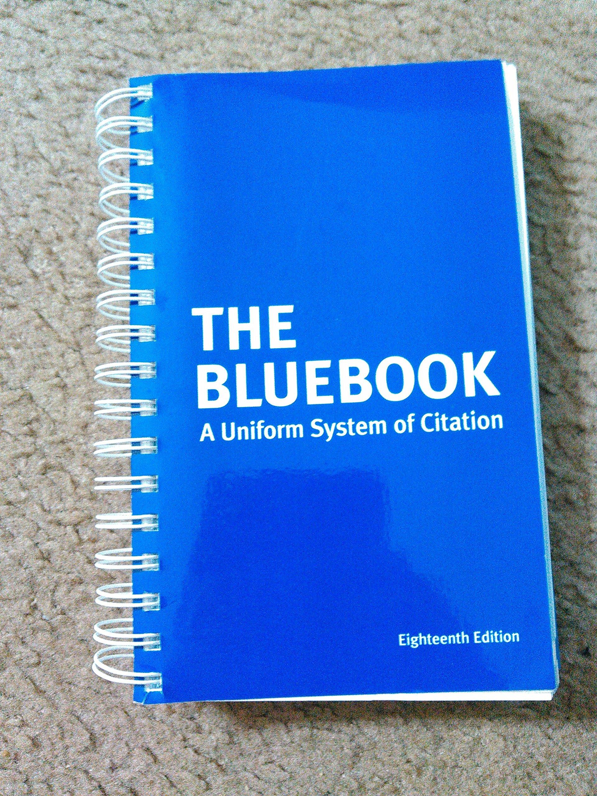 Bluebook a uniform system of citation 9786000143299 amazon bluebook a uniform system of citation 9786000143299 amazon books ccuart Image collections