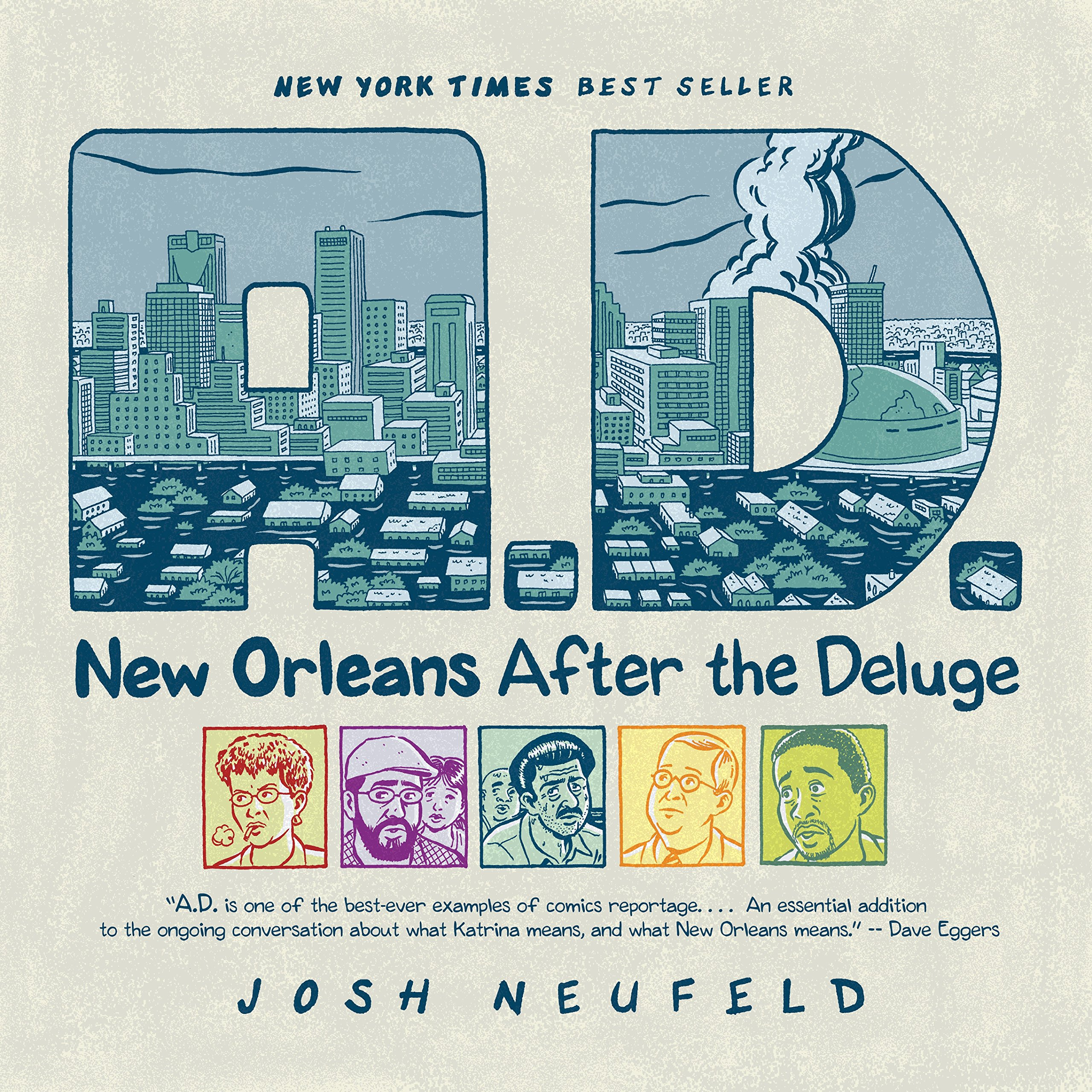 A.D.  New Orleans After The Deluge  Pantheon Graphic Library