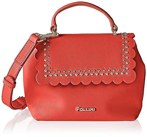 550a0fd05a Pollini Bag - Borsa Donna, Rosa (Corallo), 8x16x22 cm (B x H T ...