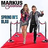 Spring in's Blau