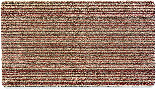 Eco Genics Plain Indiana Contemporary Mat Size Runner 65cm x 150cm
