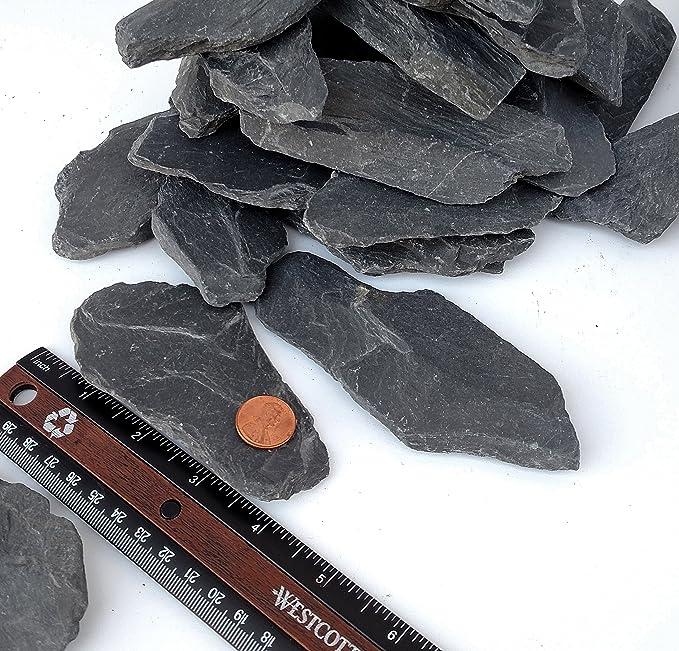 Amazon.com: pizarrón Natural Piedras 3 A 4 inch Rocks para ...