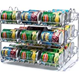 Stackable Can Rack Organizer, Storage for 36 cans - Great for the Pantry Shelf, Kitchen Cabinet or Counter-top. Stack…