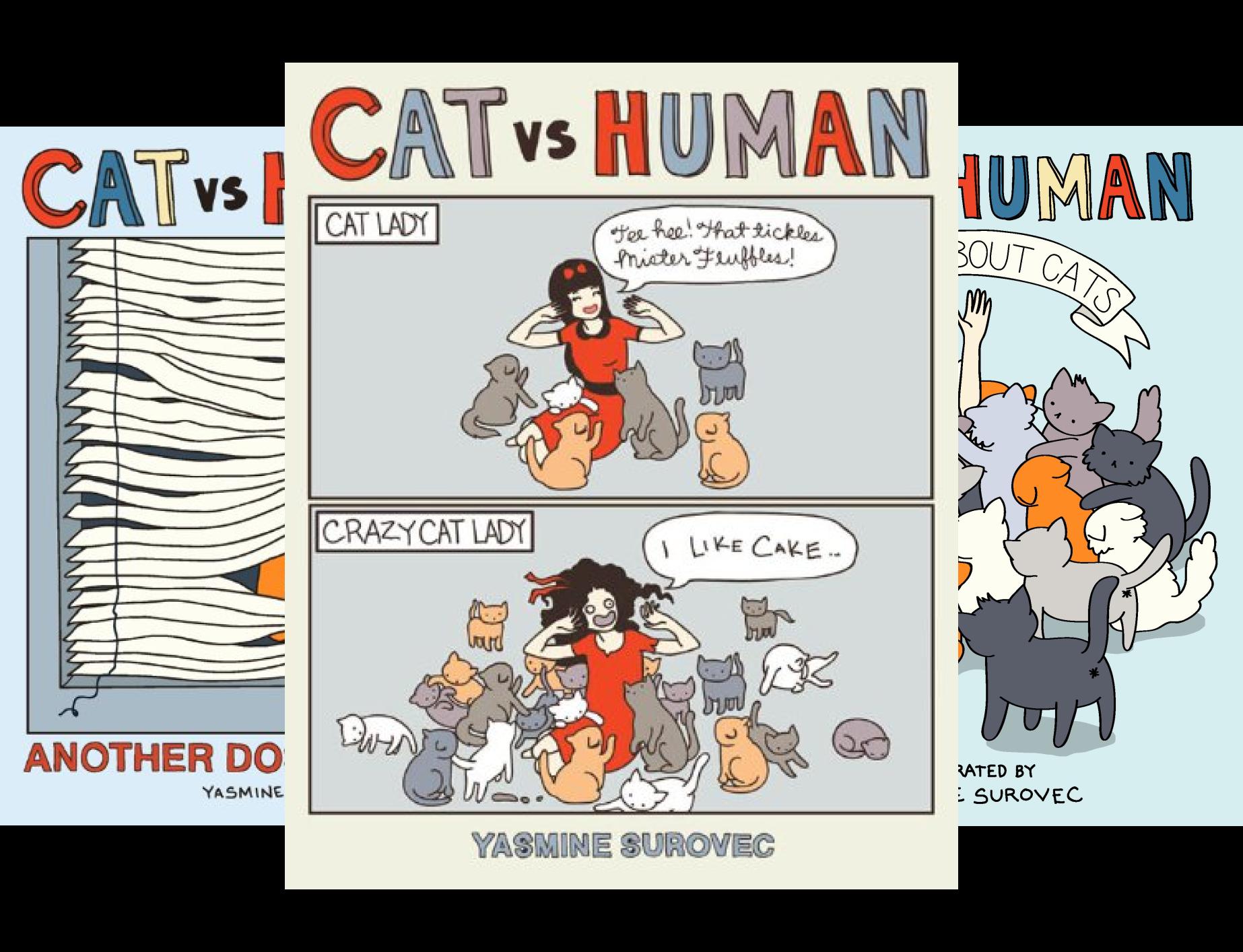 Cat vs Human (4 Book Series)