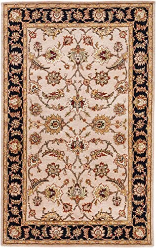 Jaipur Living Selene Hand-Tufted Oriental Neutral Area Rug 5' X 8'