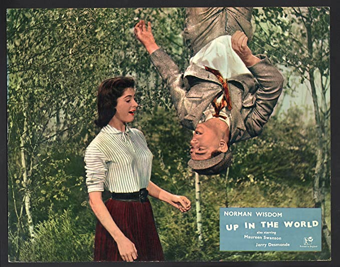 Amazon.com: MOVIE POSTER: Up in the World Lobby Card-Norman Wisdom ...