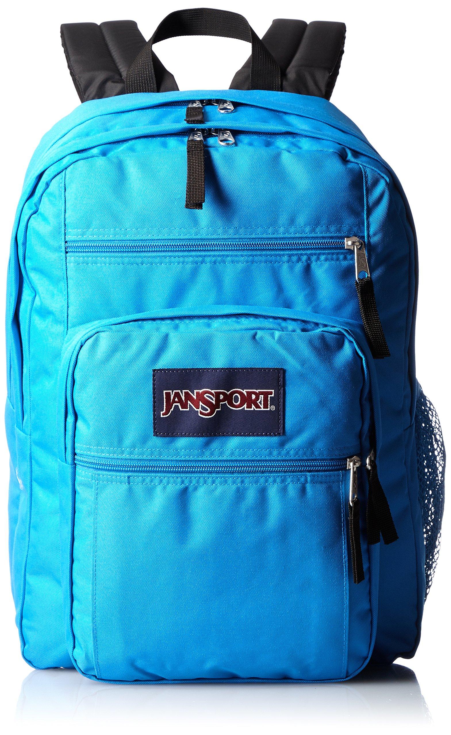JanSport Big Student Backpack- Sale Colors (Blue Crest)