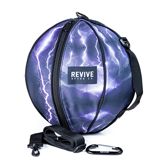 213741d3e47a98 Amazon.com   Revive Lightning Strike Game Bag Basketball Bag   Sports    Outdoors