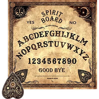 Board ~ Spirit Board ~ Mystical ~ SPIRIT BOARD by Nemesis Now: Toys & Games